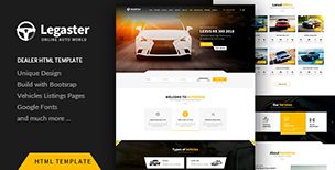 Legaster - Automotive HTML Template