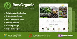 RawOrganic - Organic and Healthy Food Store