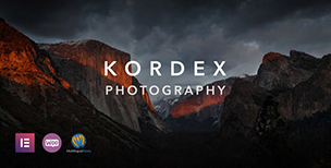 Kordex | Studio Photography for WordPress