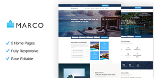 Marco - Resort and Hotel HTML Template