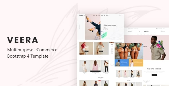 Veera - Multipurpose eCommerce Bootstrap 4 Template
