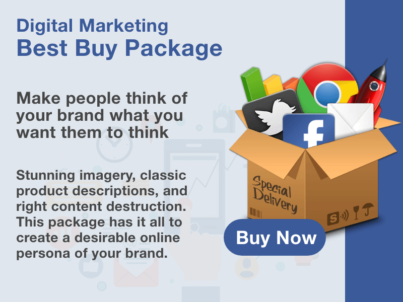 Buy Digital Marketing Best Buy Package