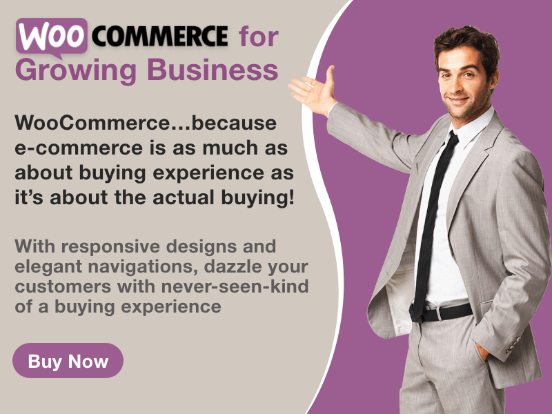 Buy WooCommerce for Growing Business