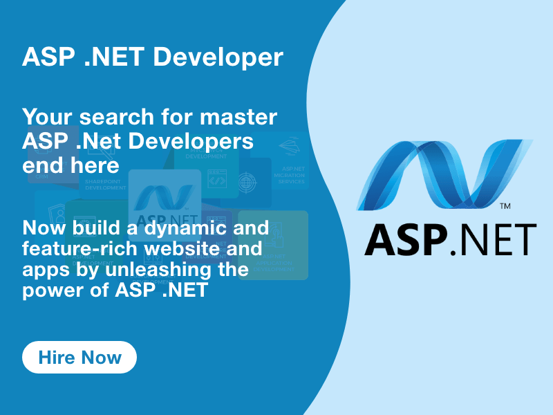 Hire ASP.Net Developer from team of experts