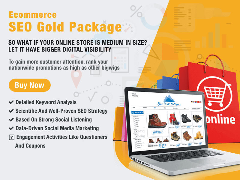 Buy Ecommerce SEO Package