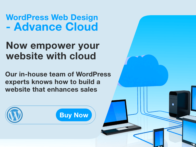 WordPress Web Design - Advance Cloud