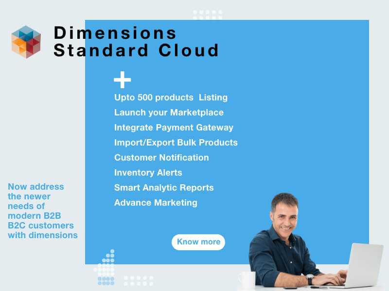Dimensions Ecommerce for Growing Business