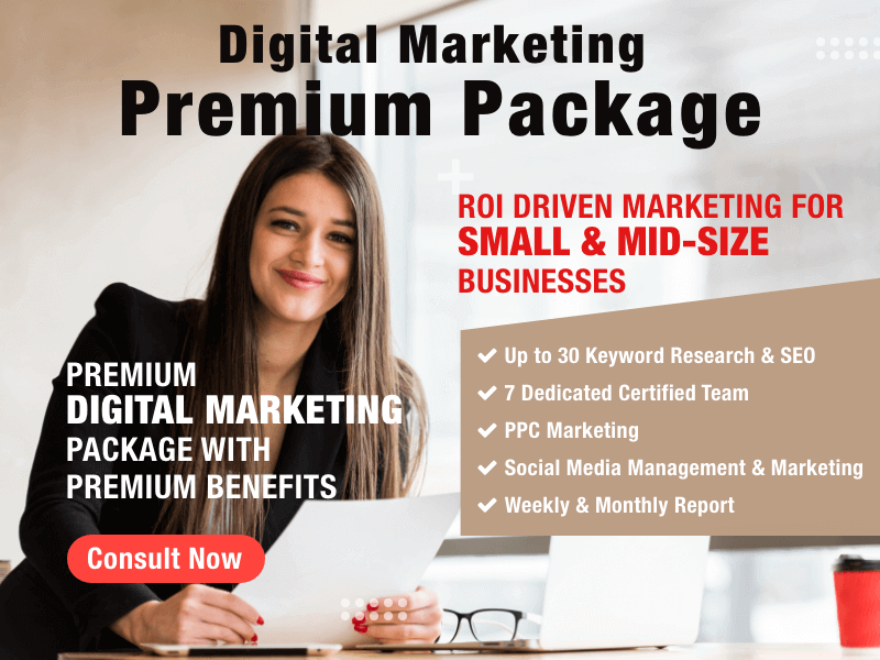 Digital Marketing Premium Package