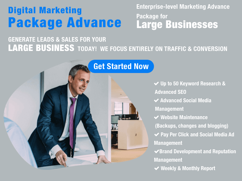 Digital Marketing Advance Package