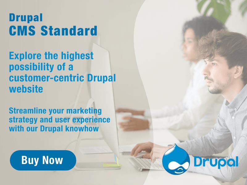 Buy Drupal CMS Platform