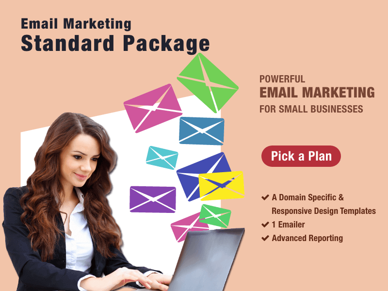 Buy Email Marketing Standard Package