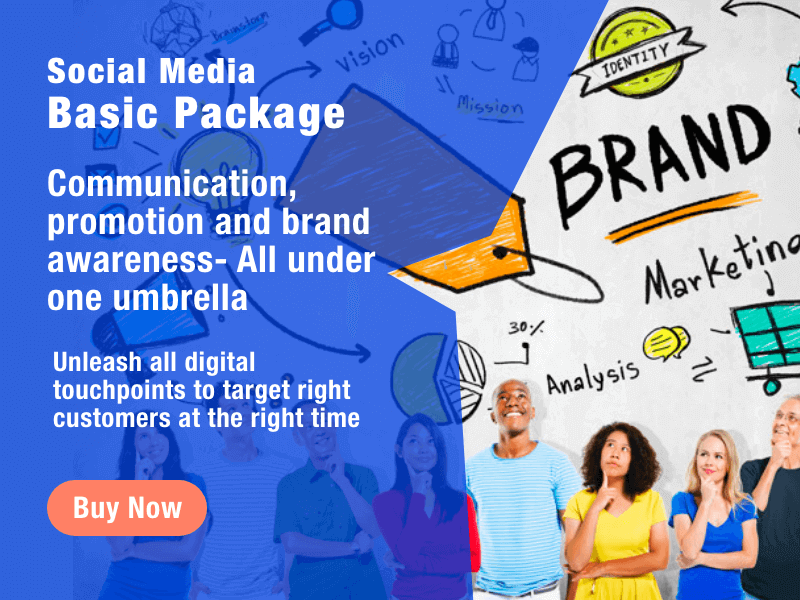 Buy Social Media Basic Package