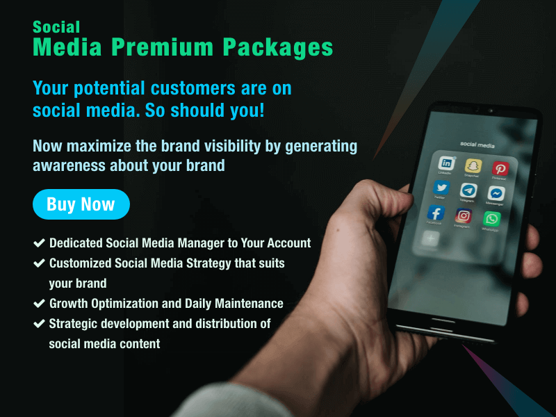Buy Social Media Premium Package