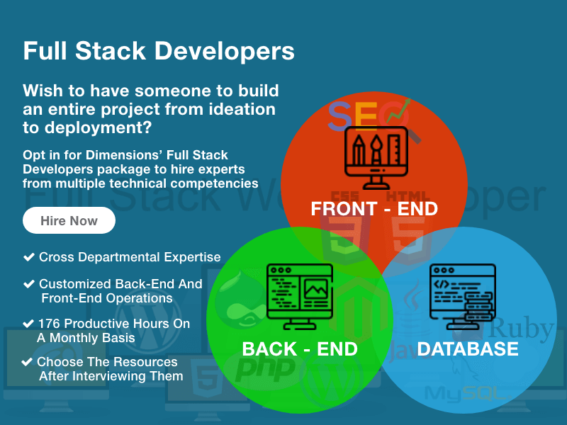 Hire Full Stack Developers from team of experts
