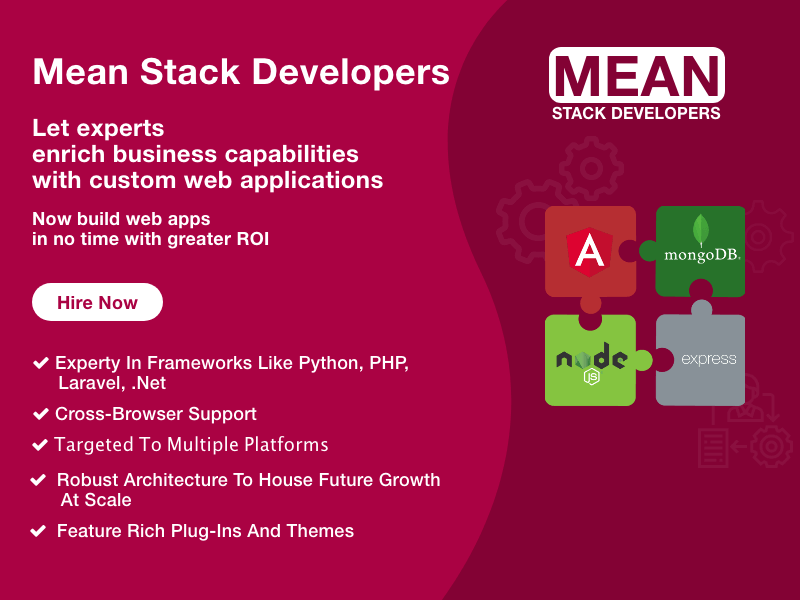 Hire Mean Stack Developer from team of experts
