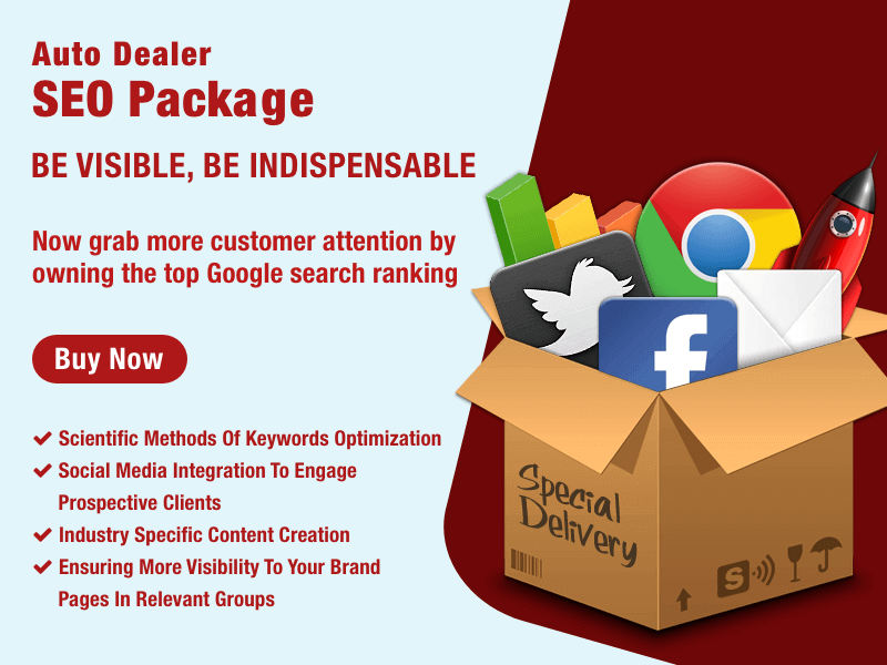 SEO Package for Auto Dealer