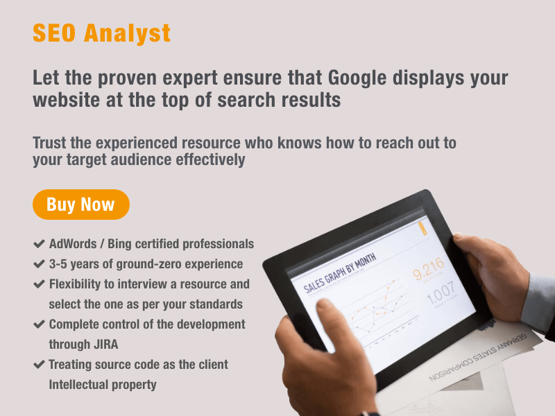 Hire SEO Analyst