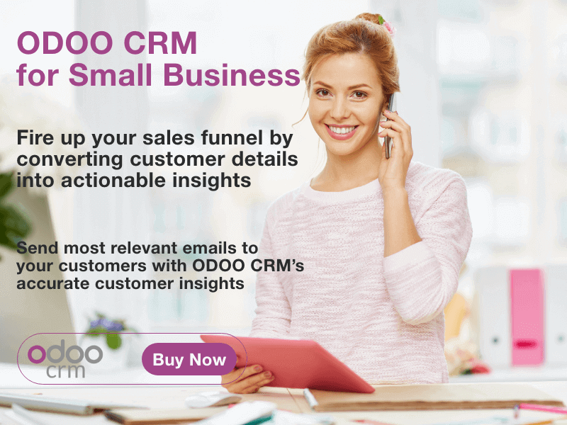 ODOO CRM for Small Business