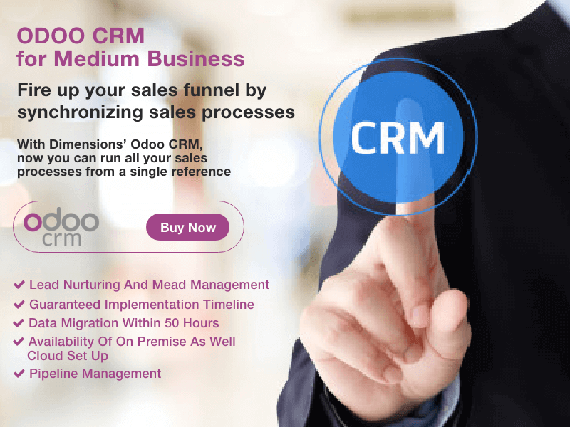 ODOO CRM for Medium Enterprises