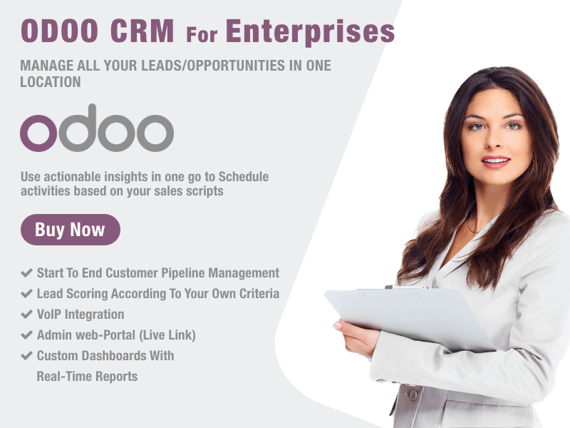 ODOO CRM for Enterprises