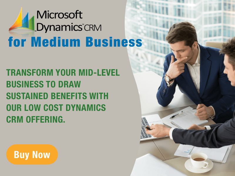 Microsoft Dynamics CRM for Medium Business