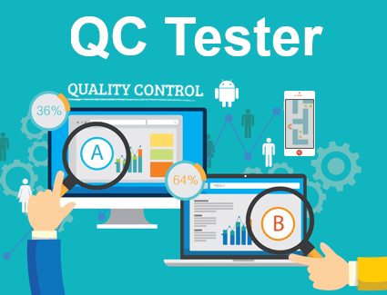 Hire QC Tester from team of experts
