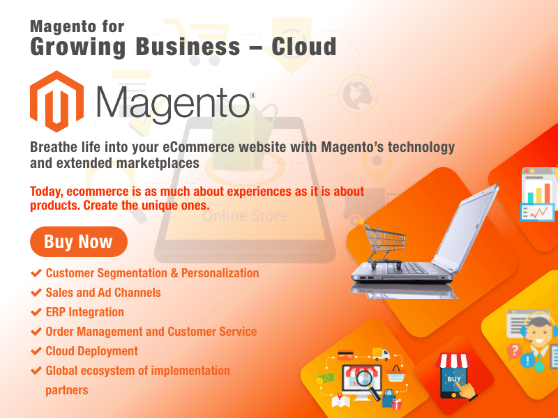 Magento for Growing Cloud Business