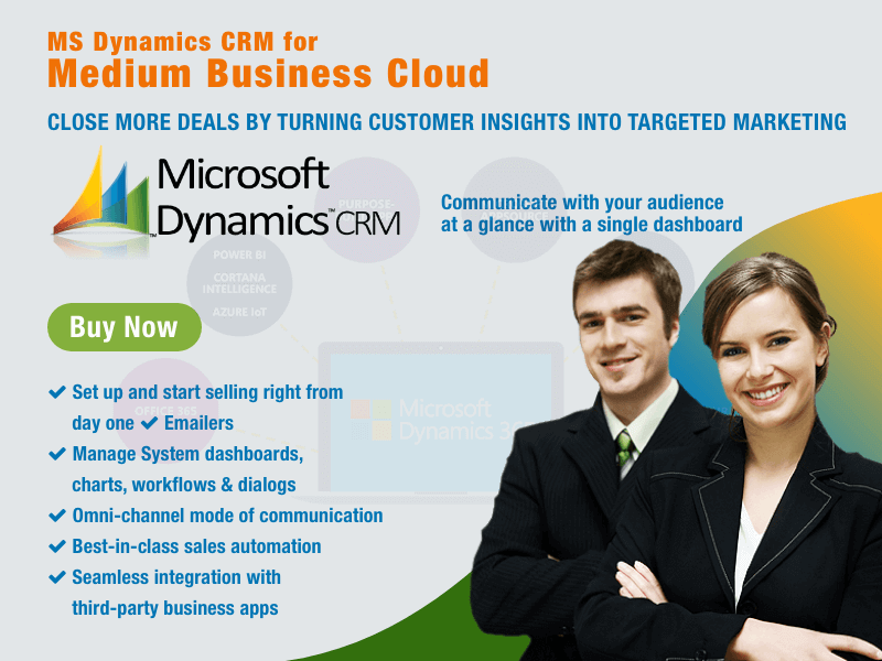 MS Dynamics CRM for Medium Business
