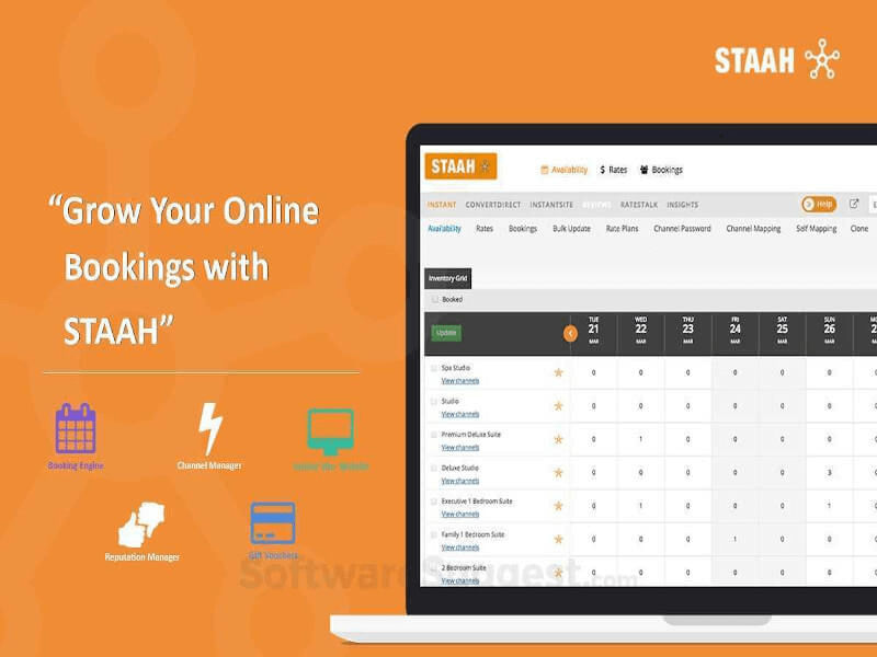 STAAH Instant Channel Manager