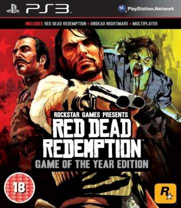Red Dead Redemption Game of the Year GOTY Edition PS3