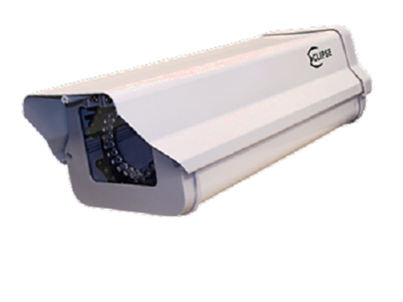 Outdoor Camera Housing with Built-In Infrared Projector