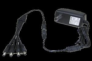 12V DC 2000MA 4 camera easy plug in power supply